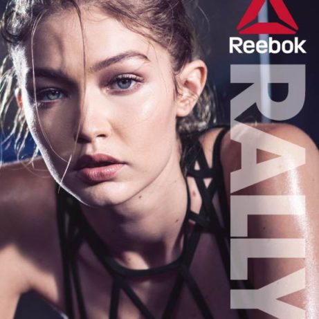Reebok Catalog Cover Gigi Hadid
